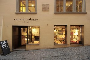 A4MCPP Exterior of the Cabaret Voltaire in West Zurich's old town.. Image shot 01/2007. Exact date unknown.